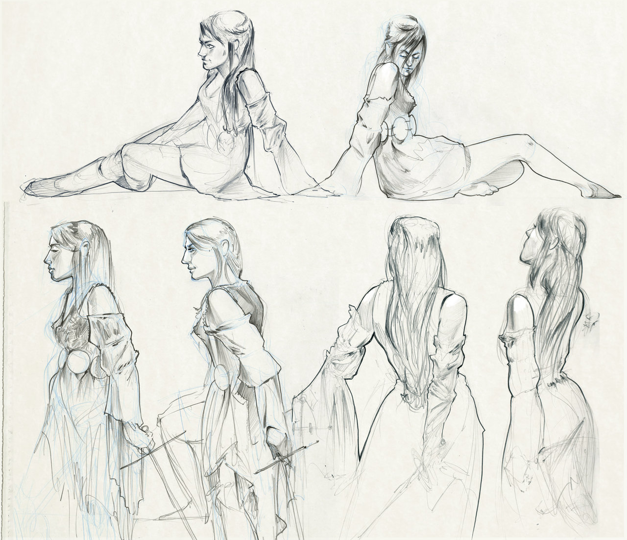 1280x1102 Figure Drawing! by JerrySabatini on DeviantArt