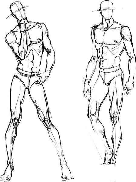 Figure Drawing Poses Male