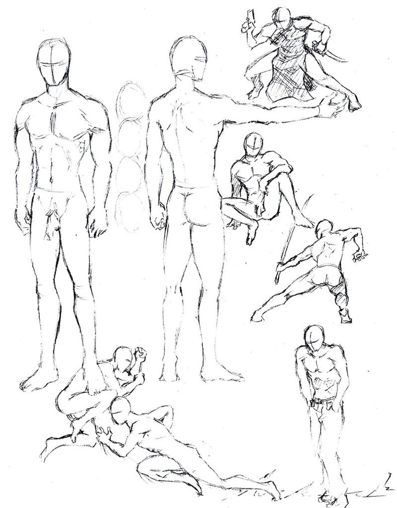790x1010 Male Figures 1 By Shinsengumi77