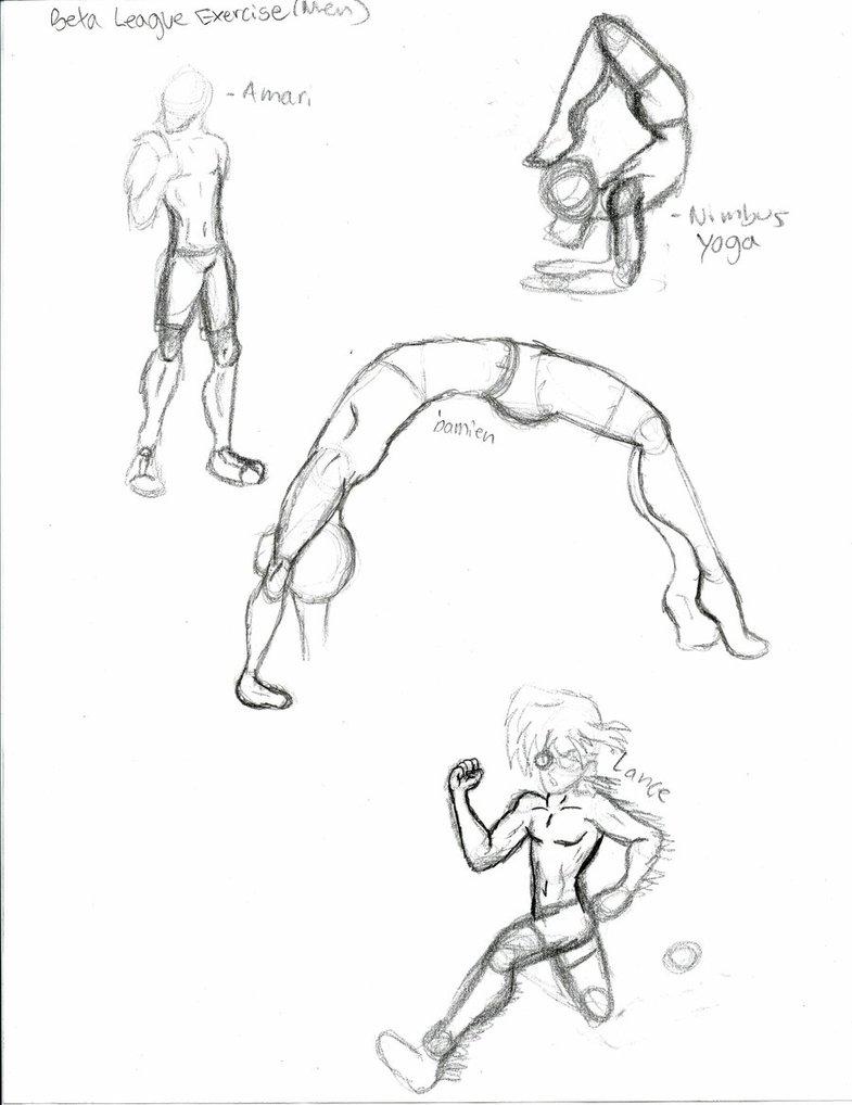 785x1018 Male Anatomy And Pose Sketches By Ziggyomgplz