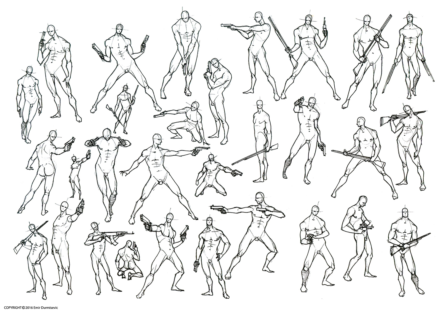 Figure Drawing Poses Male at GetDrawings | Free download