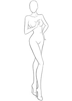 236x333 Fashion Template 32 I Draw Fashion Poses Fashion