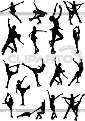 282x400 Image Result For Spiral Figure Skating Drawings Wall Art