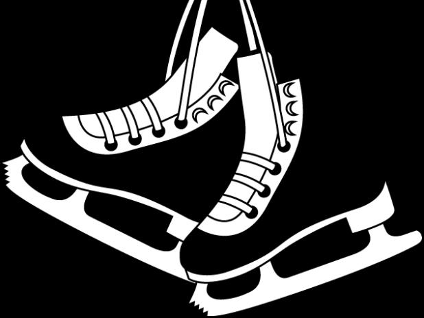 Figure Skates Drawing