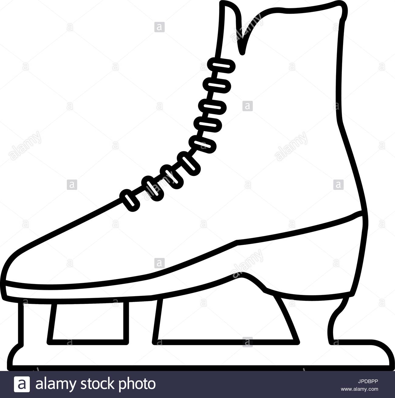1300x1310 Ice Skate Boot Icon Cartoon Stock Photos Amp Ice Skate Boot Icon