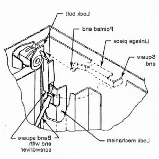 615x615 Repair File Cabinet Lock Hon Youtube Inside File Cabinet Lock