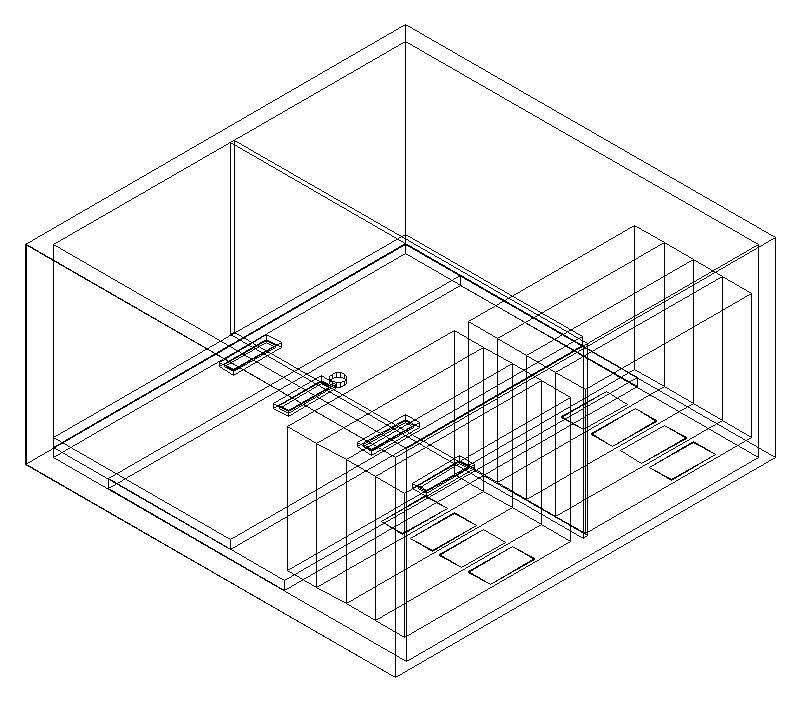 800x703 Bedroom Multilayered File Cabinet Cad 3d Drawings, Autocad Drawing