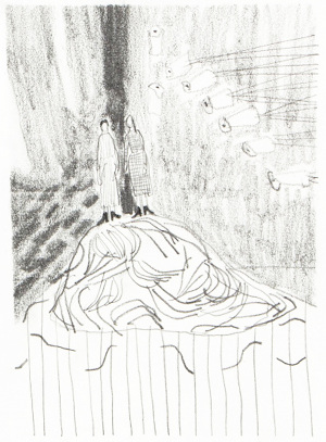 300x407 2017 Drawings From Film