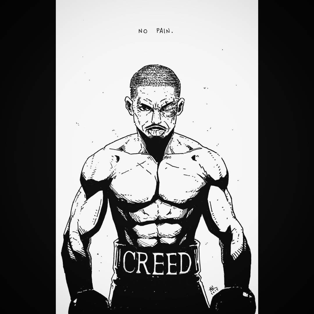 1080x1080 Really Enjoyed The Creed Movie So I Had To Do A Andrew