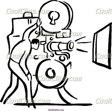 375x371 Movie Projector Clipart Clipart Panda