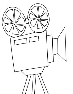 236x305 Movie Star Coloring Page