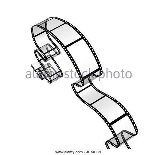 548x540 Illustration Movie Reel Film On Stock Photos Amp Illustration Movie