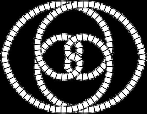 500x389 Perpetual Film Strip Public Domain Vectors