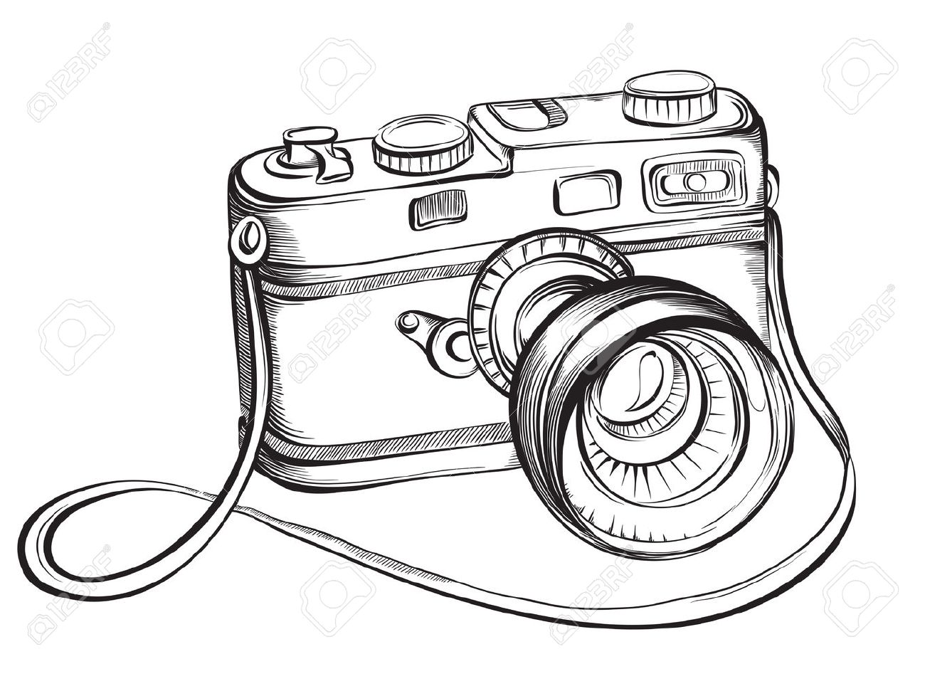 Line Art Camera : Film strip drawing at getdrawings free for personal