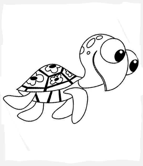 600x694 squirt coloring pages