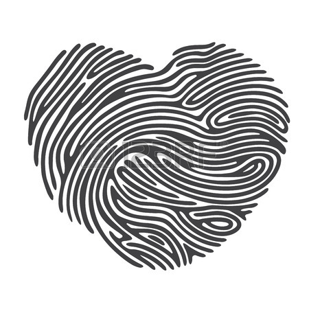 Finger Print Drawing