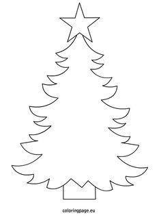 236x318 Fir Tree Christmas Tree Template Merry Christmas Amp Happy New