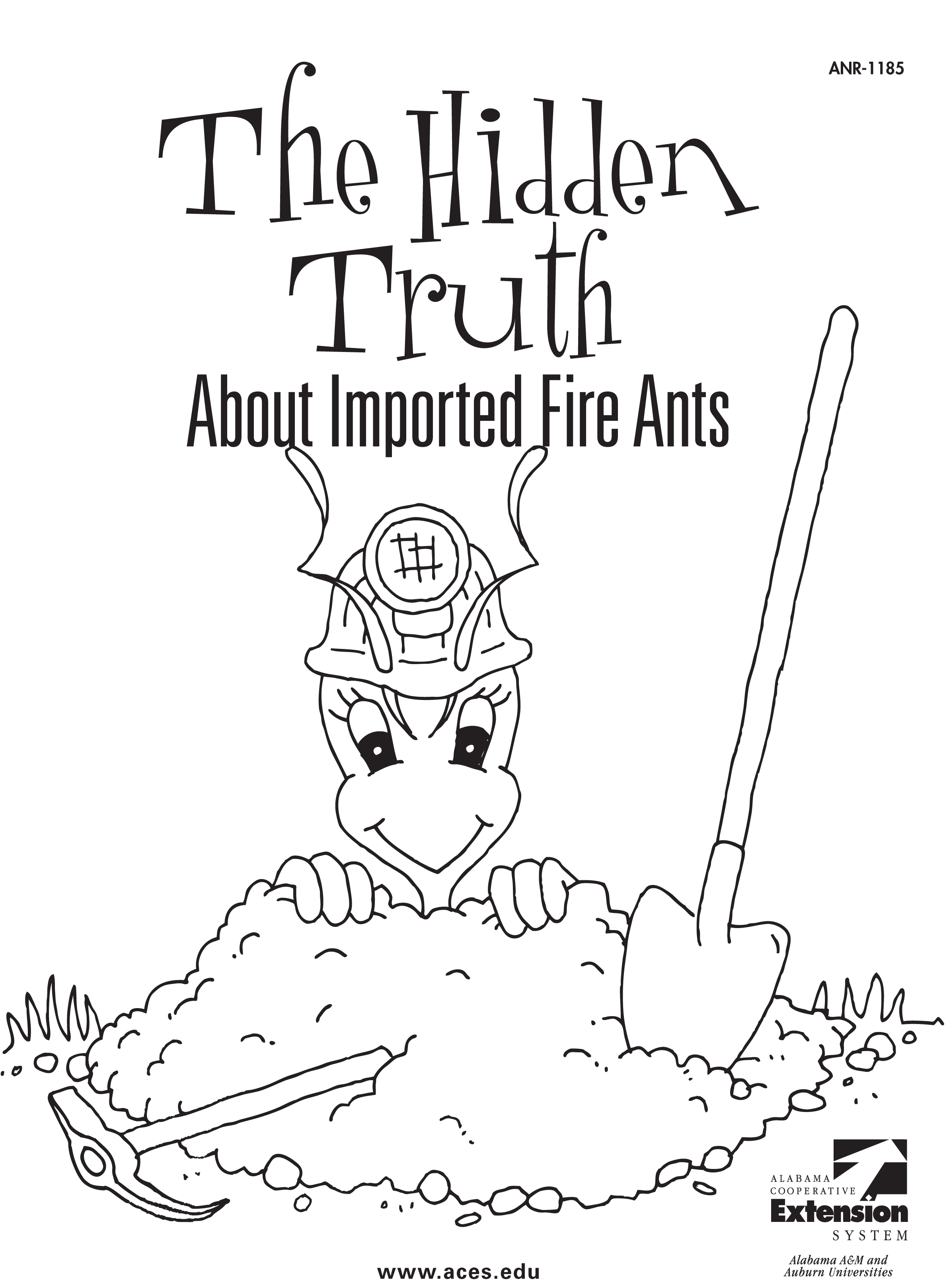 2375x3235 Fire Ant Coloring Page 1185