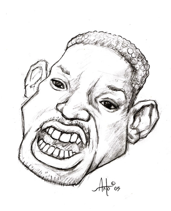 567x700 Will Smith By Fire Ant