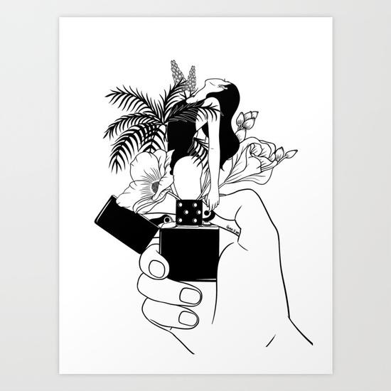 550x550 All Illustrations Are Drawn By Henn Kim. Artprints I Like