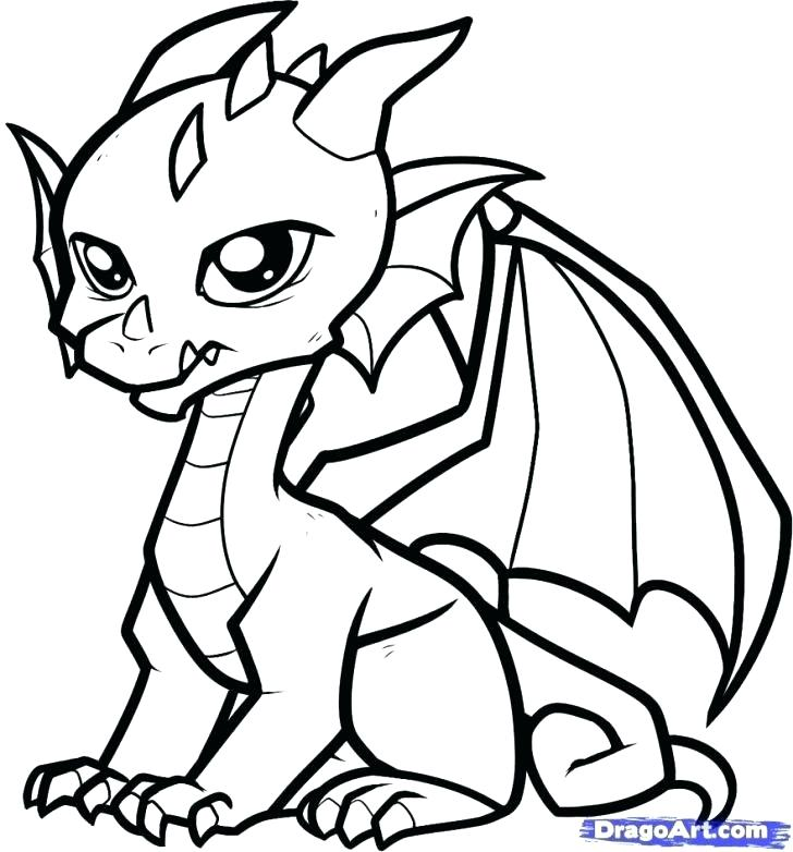 728x782 Beautiful Dragons Coloring Pages Image Cartoon Pictures Echos