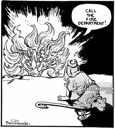 400x449 Bush Fire Cartoons And Comics