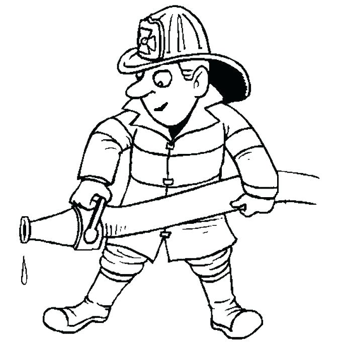 680x680 Coloring Pages Of Fire Fire Fighting Coloring Pages Fire Fighter