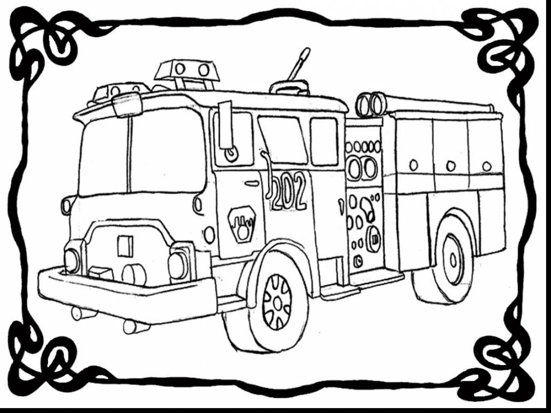 Fire Engine Drawing at GetDrawings.com | Free for personal use Fire ...