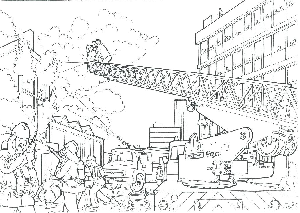 1032x732 Inspirational Fire Fighting Coloring Pages And Fire Fighting