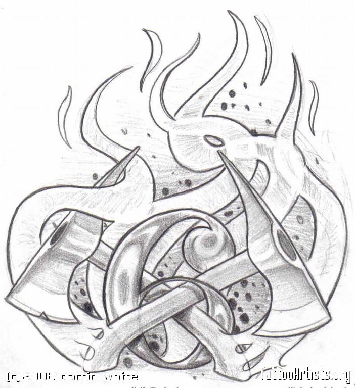 702x768 Firefighter Tattoo Designs Clip Art Fireman Tattoos Firefighter