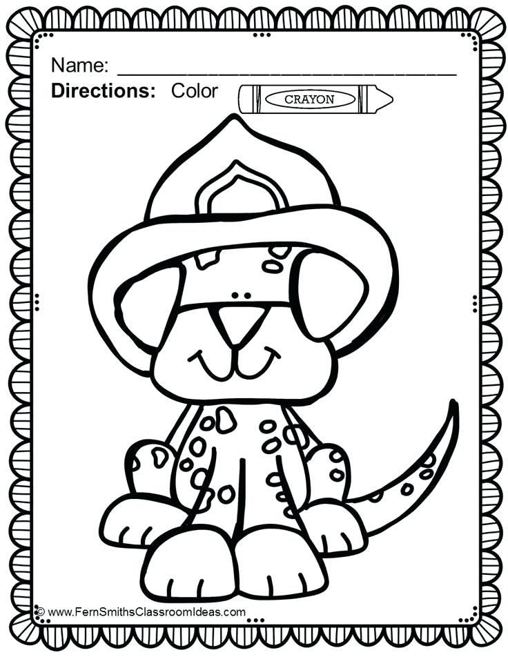 736x952 Firefighter Hat Coloring Page Fire Helmet