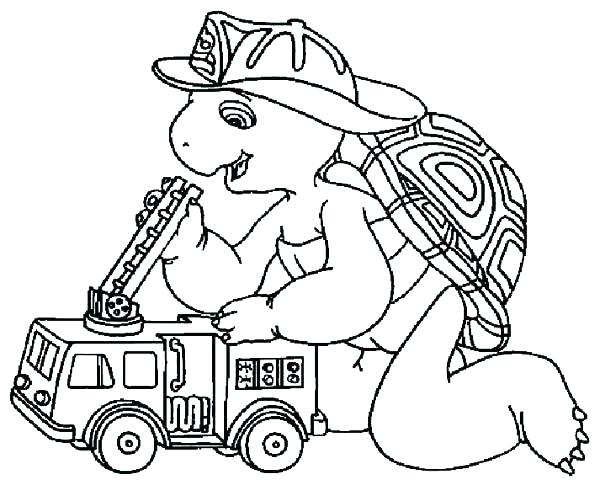 600x480 Firefighter Hat Coloring Page Firefighter Hat Coloring Pages