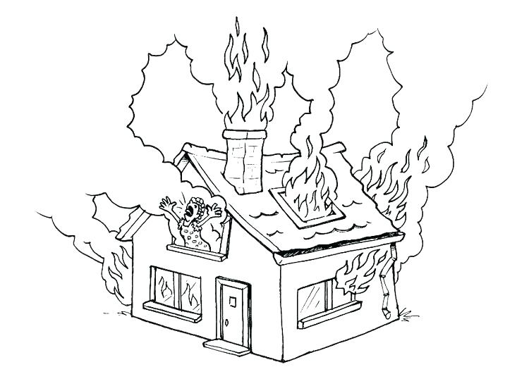 750x531 Fire Hydrant Coloring Page Pages House