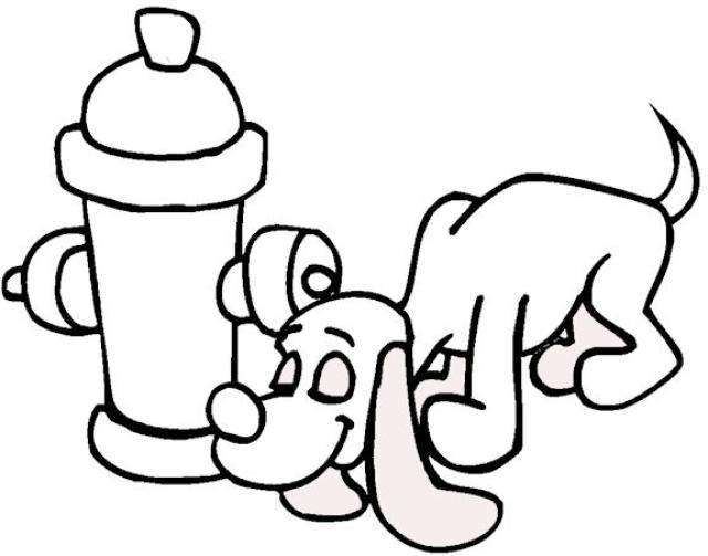 640x503 Fire Hydrant Coloring Pages