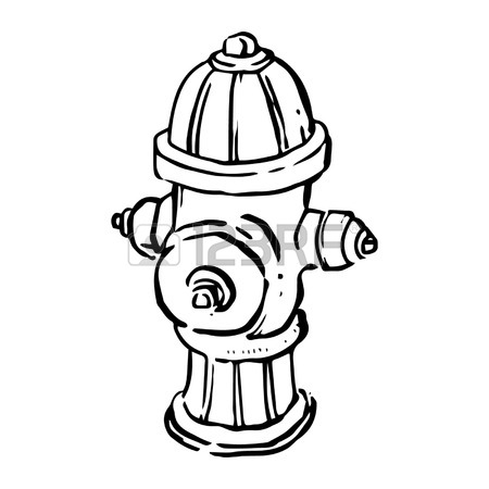 450x450 Fire Hydrant Line Drawing Royalty Free Cliparts, Vectors,
