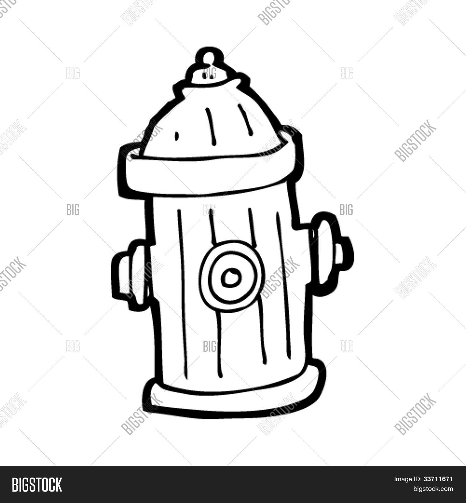 1500x1620 Cartoon Fire Hydrant Vector Amp Photo Bigstock