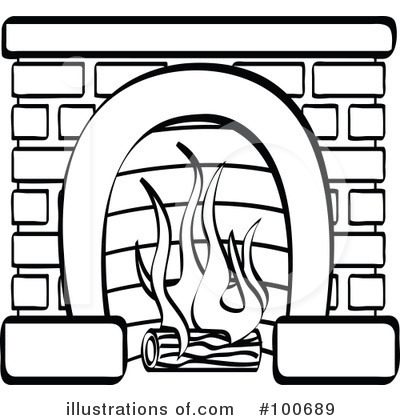 Fire Place Drawing At Getdrawings Com Free For Personal