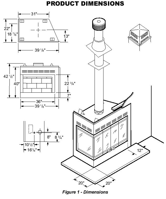 632x758 Bi Fold Corner Glass Doors For Wood Burning Corner Fireplace