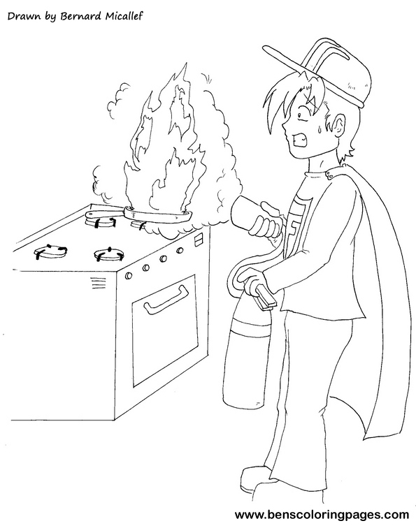 595x756 Fire Safety In The Kitchen