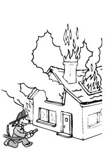 Fire Safety Drawing at GetDrawings.com | Free for personal ...
