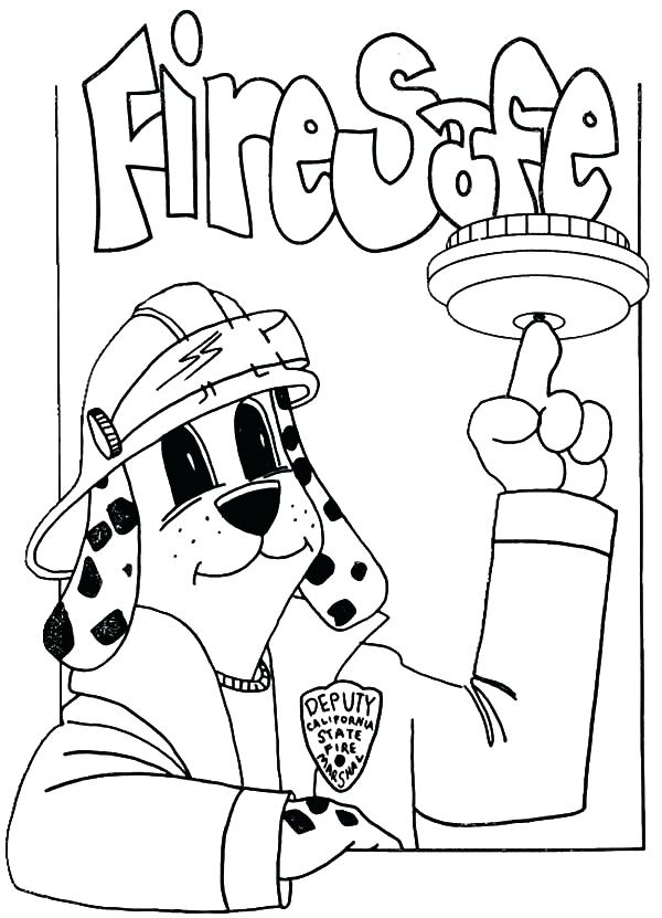 600x831 Top Rated Fire Safety Coloring Pages Images Fire Prevention