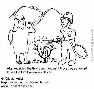 400x380 Cartoon About Fire Safety