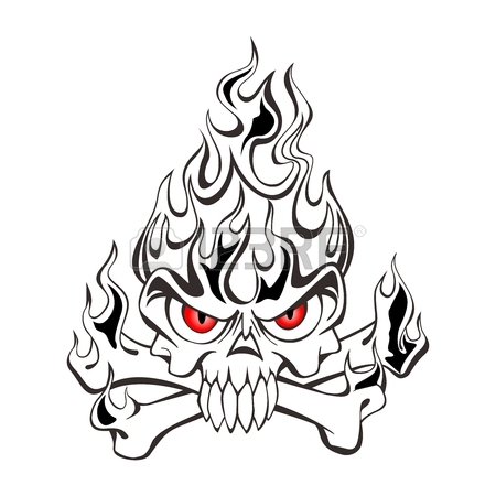 450x450 Evil Skull Stock Photos. Royalty Free Business Images