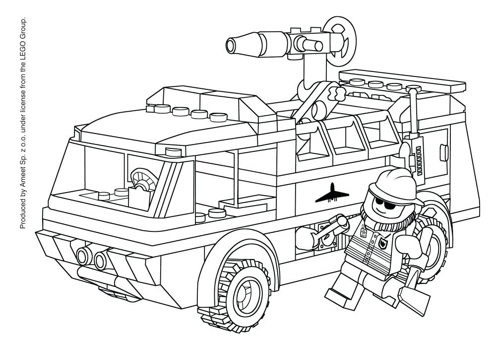 1000x707 Free Fire Truck Coloring Pages To Print 21 Plus Fire Truck