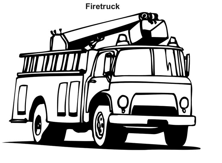 736x542 The Best Firetruck Coloring Page Ideas
