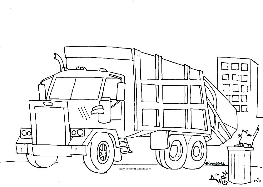 842x598 Free Fire Truck Coloring Pages Free Truck Coloring Pages Fire