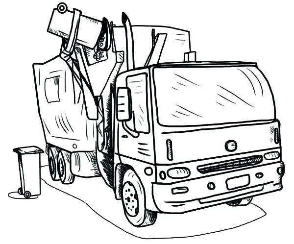 600x498 Truck Coloring Page Firetruck Coloring Pages Free Coloring Media
