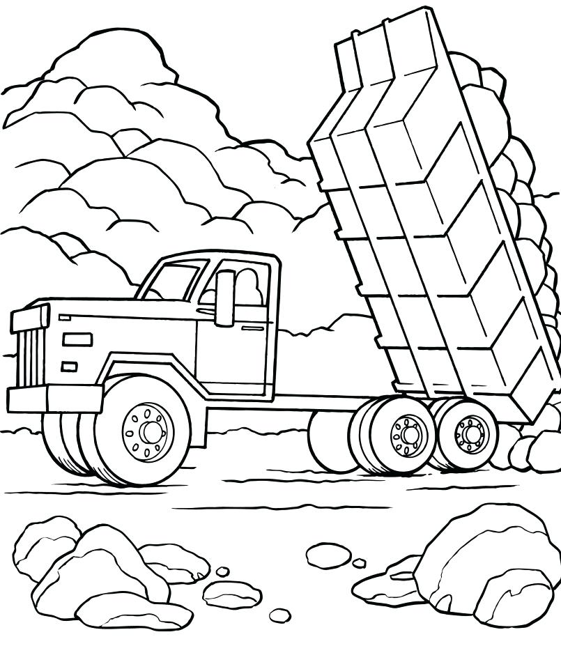 805x927 Fire Truck Coloring Pages Print For Kids Best Coloring Disney Book