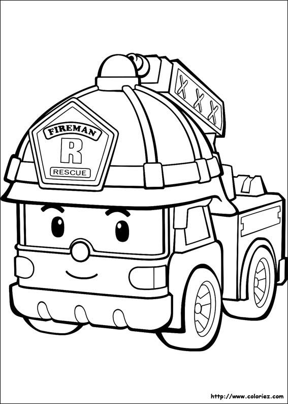 567x794 Firetruck