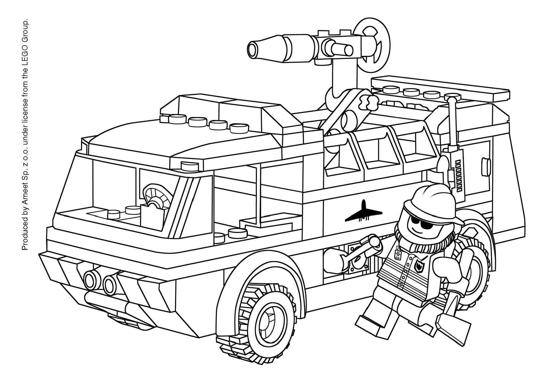 Ausmalbilder Paw Patrol Station : Fire Truck Drawing Pictures At Getdrawings Com Free For Personal